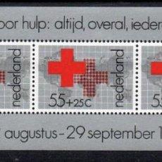 Sellos: PAISES BAJOS HOLANDA AÑO 1978 YV HB 18*** PRO CRUZ ROJA. Lote 249062080