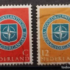 Sellos: 1959. HOLANDA. 10º ANIVERSARIO OTAN ,SERIE . .*. MH ( 21-366). Lote 253149350