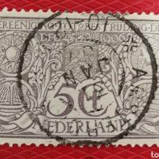 Sellos: PAÍSES BAJOS, PREVENCIÓN DE LA TUBERCULOSIS 1906 USADO (FOTOGRAFÍA REAL). Lote 257439795