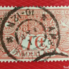 Sellos: PAÍSES BAJOS, PREVENCIÓN DE LA TUBERCULOSIS 1906 USADO (FOTOGRAFÍA REAL). Lote 257440495