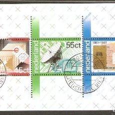 Sellos: HOLANDA. 1981. HB. YT 22.. Lote 257469330