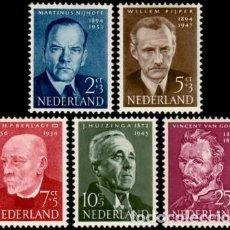 Sellos: SELLOS NUEVOS DE HOLANDA 1954, YT 618/ 22. Lote 260806675