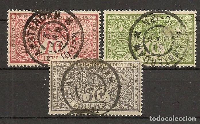 HOLANDA YVERT 70/72 (º) SERIE COMPLETA 3 VALORES 1906 NL269 (Sellos - Extranjero - Europa - Holanda)