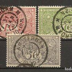 Sellos: HOLANDA YVERT 70/72 (º) SERIE COMPLETA 3 VALORES 1906 NL269. Lote 261694740