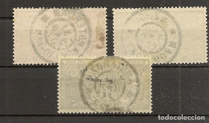 Sellos: HOLANDA YVERT 70/72 (º) Serie completa 3 Valores 1906 NL269 - Foto 2 - 261694740