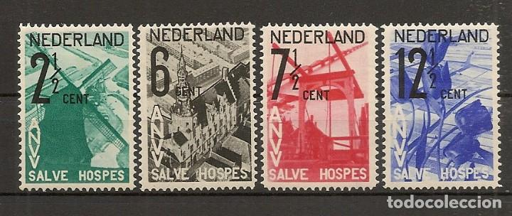 HOLANDA YVERT 241/244* MH SERIE COMPLETA 4 VALORES 1932 NL824 (Sellos - Extranjero - Europa - Holanda)