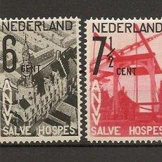 Sellos: HOLANDA YVERT 241/244* MH SERIE COMPLETA 4 VALORES 1932 NL824. Lote 262039945