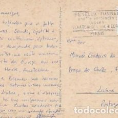 Sellos: HOLANDA & CIRCULADO, BREMEN, MOLINO, ROTTERDAM A LISBOA PORTUGAL 1968 (1883). Lote 262864210