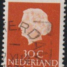 Sellos: HOLANDA 1953-67 SCOTT 349 SELLO º REINA JULIANA QUEEN JULIANA (1909-2004) MICHEL 624XXA YVERT 604. Lote 267503309