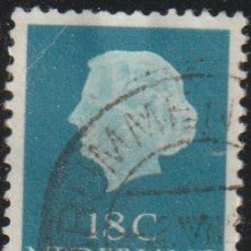 Sellos: HOLANDA 1953-67 SCOTT 346C SELLO º REINA JULIANA QUEEN JULIANA (1909-2004) MICHEL 842XA YVERT 816. Lote 267503359