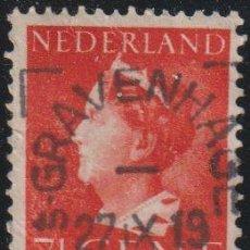 "Sellos: HOLANDA 1940-47 SCOTT 217 SELLO º REINA WIHELMINA TYPE ""KONIJNENBURG"" MICHEL 342 YVERT 333 NEDERLAND. Lote 267508794"