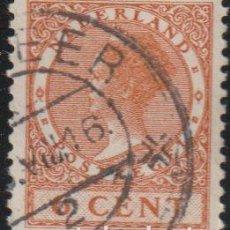 "Sellos: HOLANDA 1924-26 SCOTT 148 SELLO º REINA WIHELMINA TYPE ""VETH"" MICHEL 152A YVERT 139 NEDERLAND PAISES. Lote 267508859"