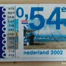 Sellos: HOLANDA 2002. Lote 269005749