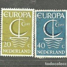 Sellos: HOLANDA 1966 - YVERT NRO. 837-38 - USADO -. Lote 269249313