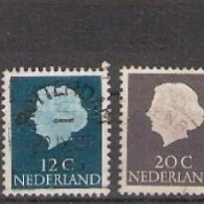 Sellos: LOTE DE 6 SELLOS DE PAISES BAJOS (NEDERLAND-HOLANDA) - USADO. Lote 277126428