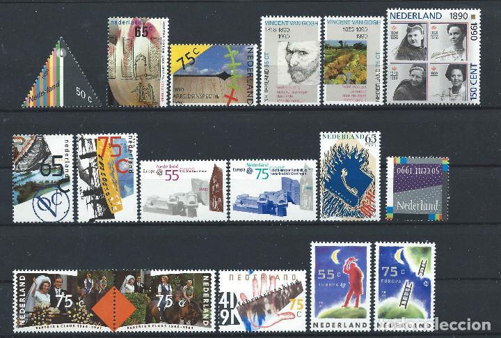 PAYS - BAS LOT 17 TP NEUF** (MNH) 1989/91 (LOT 10) (Sellos - Extranjero - Europa - Holanda)