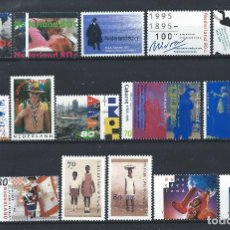 Sellos: PAYS - BAS LOT 16 TP NEUF** (MNH) 1995/96 (LOT 14). Lote 287969823