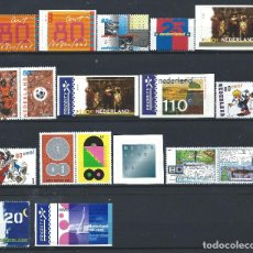 Sellos: PAYS - BAS LOT 18 TP NEUF** (MNH) 1999/2001 (LOT 18). Lote 287970488