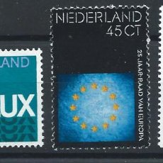 Sellos: PAYS BAS N°1006/08** (MNH) 1974 - ANNIVERSAIRES (II) DIVERS. Lote 287975583