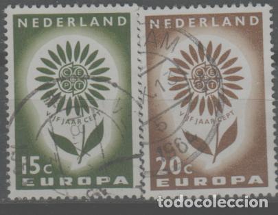 LOTE Ñ-SELLOS HOLANDA SERIE COMPLETA EUROPA (Sellos - Extranjero - Europa - Holanda)