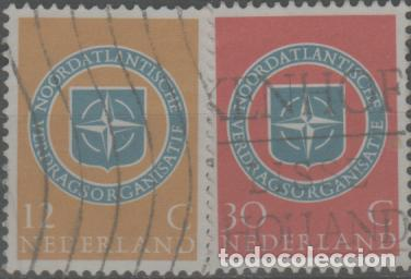 LOTE Ñ-SELLOS HOLANDA SERIE COMPLETA (Sellos - Extranjero - Europa - Holanda)