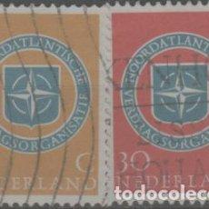 Sellos: LOTE Ñ-SELLOS HOLANDA SERIE COMPLETA. Lote 288351788
