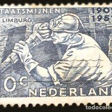 Sellos: MICHEL NL 587 - PAÍSES BAJOS - MINEROS - NETHERLANDS PUBLIC MINES - 1952. Lote 289385733