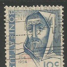 Sellos: HOLANDA / PAÍSES BAJOS - 1954 - XII. CENT. DE ASESINATO DE APOSTEL SAN BONIFACIO - MI: 643 - USADO. Lote 295814038