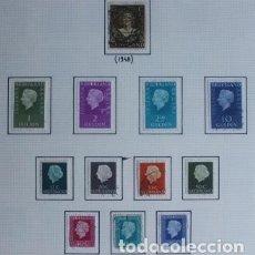 Sellos: 12 SELLOS PAÍSES BAJOS HOLANDA REINA JULIANA (1948 - 1980). Lote 296872893