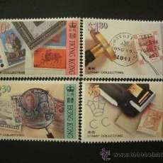 Sellos: HONG KONG 1992 IVERT 699/702 *** LA FILATÉLIA - PASATIEMPOS DE TODA LA VIDA. Lote 28679235
