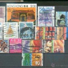 Selos: HONG KONG - CHINA .- LOTE DE 14 SELLOS DIFERENTES. Lote 45567579