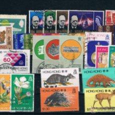 Sellos: HONG KONG. CONJUNTO DE SERIES CON VALOR DE CATALOGO 141.70 EUROS. Lote 46016567