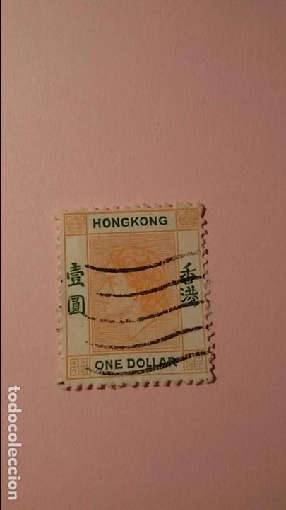 SELLO DE HONG KONG ,AÑOS 70, CIRCULADO (Sellos - Extranjero - Asia - Hong Kong)