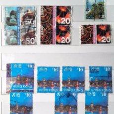 Sellos: HONG KONG, 13 SELLOS USADOS . Lote 101053539