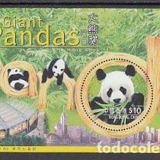 Sellos: HONG KONG - HOJAS YVERT 61 ** MNH FAUNA OSOS PANDA. Lote 153279372