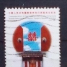Sellos: HONG KONG PANORAMICA SELLO USADO. Lote 179149826