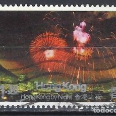 Sellos: HONG-KONG 1983 - HONG-KONG DE NOCHE - SELLO USADO. Lote 210654894