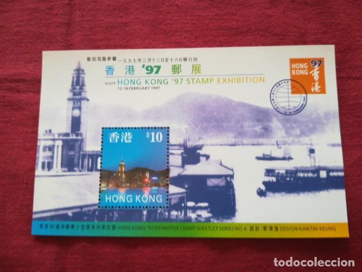 HOJA DE BLOQUE HONG KONG 1997 (Sellos - Extranjero - Asia - Hong Kong)