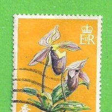 Sellos: HONG KONG - MICHEL 342 - YVERT 336 - ORQUÍDEAS - CASCO DE VENUS. (1977).. Lote 217264156