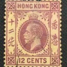 Sellos: SELLO POSTAL DE HONG KONG 1912 JORGE V. Lote 220125895