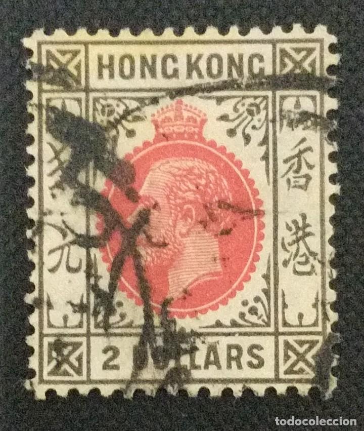 SELLO POSTAL DE HONG KONG 1912 JORGE V (Sellos - Extranjero - Asia - Hong Kong)