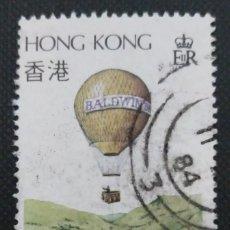 Sellos: SELLO POSTAL DE HONG KONG 1984 LA AVIACIÓN EN HONG KONG. Lote 220126315