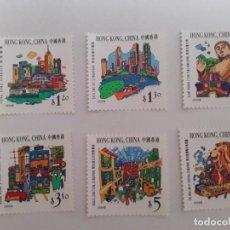 Selos: AÑO 1999 HONG KONG CHINA SERIE SELLOS NUEVOS. Lote 230175660