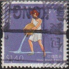 Sellos: HONG KONG CHINA 2012 SCOTT 1738 SELLO º SIGNOS DEL ZODIACO ACUARIO AQUARIUS MICHEL 1739 YVERT 1606 S. Lote 246663425