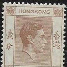 Francobolli: HONG-KONG YVERT 140 NUEVO CON GOMA. Lote 257939550