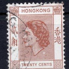 Timbres: HONG KONG 1954 STAMP ,, MICHEL 181. Lote 262247325