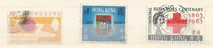 Sellos: HONG KONG - LOTE 13 SELLOS - REINA ELIZABETH II - USADOS - DIVERSOS - Foto 2 - 262305060