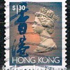 Sellos: HONG KONG Nº 710, ISABEL II, USADO. Lote 268041454