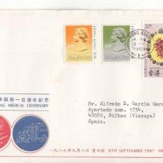 Sellos: CORREO AEREO: HONG KONG 1989. Lote 277048798