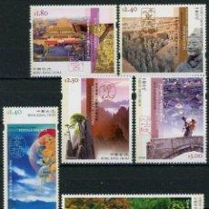 Sellos: HONG KONG 2003 IVERT 1091/6 *** PATRIMONIO MUNDIAL DE CHINA - PAISAJES Y MONUMENTOS. Lote 290412848